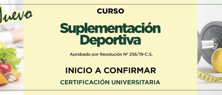 SUPLEMENTACIÓN DEPORTIVA