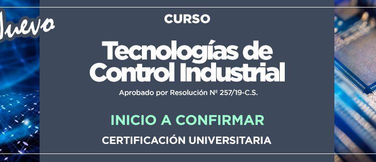 TECNOLOGÍAS DE CONTROL INDUSTRIAL