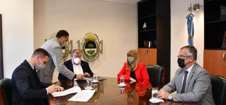 Firma de convenio con el Poder Judicial de la Provincia del Chaco.